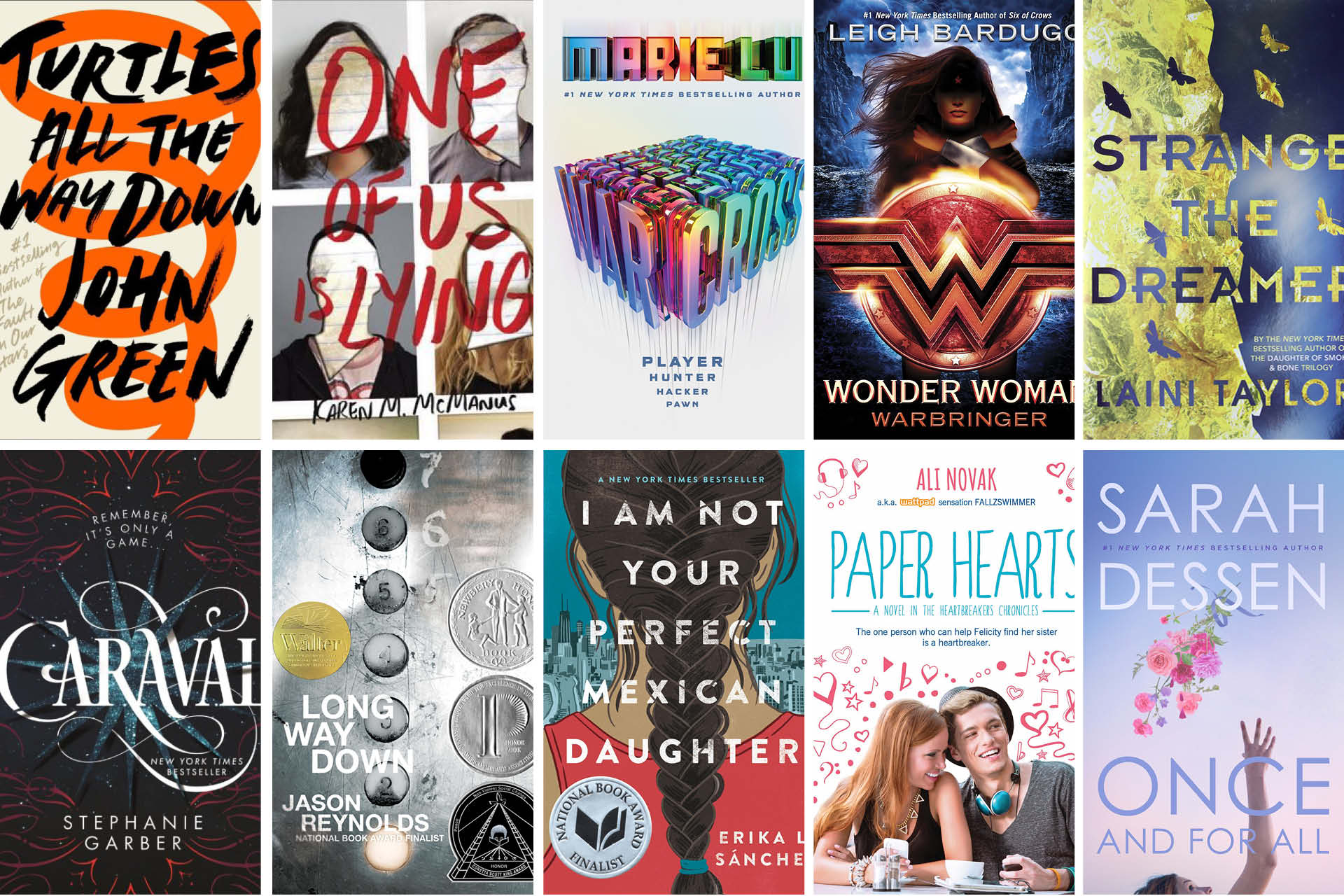 Teens Top Ten Books Of 2018 Lake Agassiz Regional Library